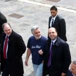 Il ministro dell'Interno, Alfano, in occasione dell'ultima sua visita a Messina