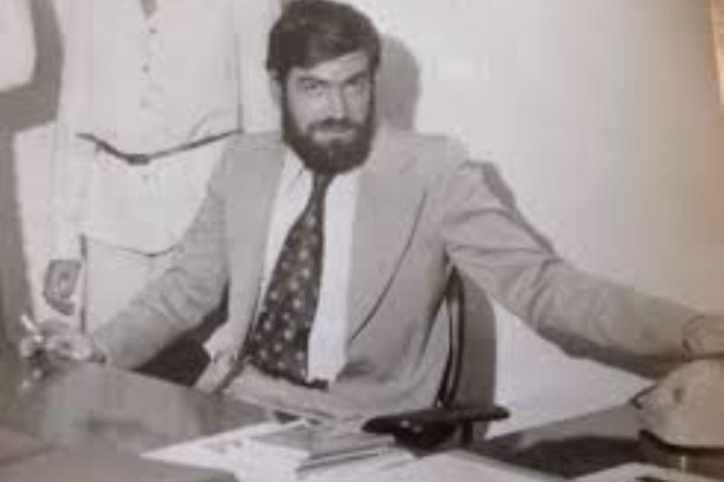 Il giornalista Beppe Alfano, ucciso l'8 gennaio 1993