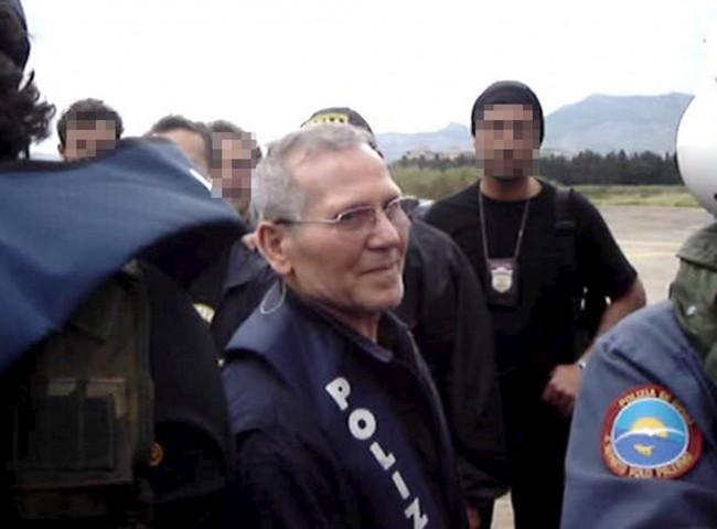 Bernardo Provenzano il giorno del suo arresto