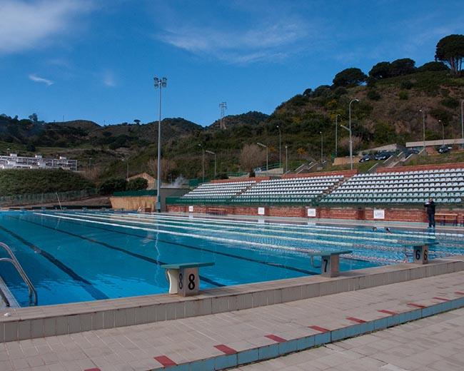 La piscina della Cittadella Sportiva Universitaria