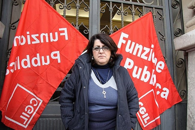 La segretaria della Fp Cgil Messina, Clara Crocè