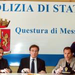 La conferenza in Questura in occasione degli arresti post derby (foto Enrico Di Giacomo)