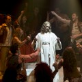 "Ted Neeley nei panni di Gesù in ""Jesus Christ Superstar"""