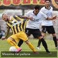 Giuseppe Fornito in un'azione di gioco (foto messinanelpallone.it)