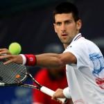 Il numero uno del tennis mondiale, Novak Djokovic