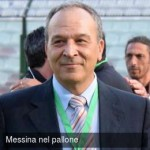Il presidente del Messina, Natale Stracuzzi (foto di Giovanni Isolino per messinanelpallone.it)