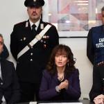 Il procuratore aggiunto Giovannella Scaminaci nel corso della conferenza stampa in Procura (foto di Enrico Di Giacomo)
