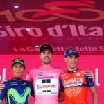 Il podio del Giro 2017