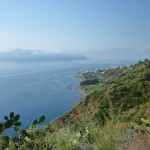 Vista panoramica Lipari da Nord-Est (Rivi)