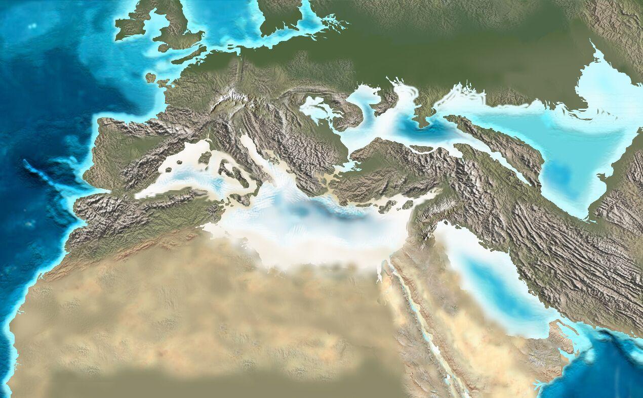 Mediterraneo nel Messiniano